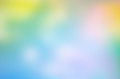 Kleurrijk multi gekleurd DE-geconcentreerd abstract fotoonduidelijk beeld Stock Foto