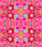 Kleurrijk (naadloos) behangontwerp Stock Fotografie