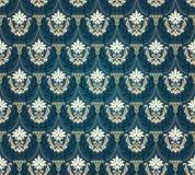 Kleurrijk naadloos damast Stock Fotografie