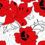 Kleurrijk naadloos patroon Stock Foto's