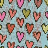 Kleurrijk naadloos patroon Stock Foto