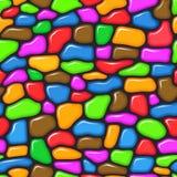 Kleurrijk Naadloos Patroon Stock Fotografie