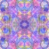 Kleurrijk naadloos patroon Stock Afbeelding