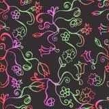 Kleurrijk naadloos patroon Stock Afbeeldingen