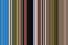Kleurrijk naadloos strepenpatroon De abstracte achtergrond van de Illustratie Modieuze moderne tendenskleuren Stock Foto