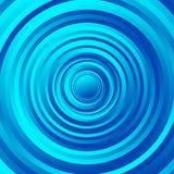 Kleurrijk omcirkel spiraalvormig patroon Roterende cirkels met gradiënt royalty-vrije illustratie