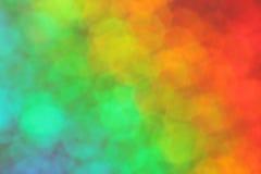 Kleurrijk onduidelijk beeld Stock Afbeelding