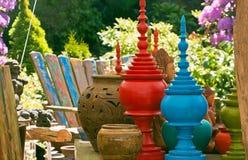 Kleurrijk Openluchtdecor Royalty-vrije Stock Fotografie
