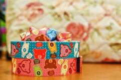 Kleurrijk origamidocument Stock Foto's
