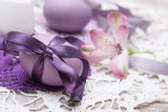 Kleurrijk Paasei Stock Foto