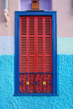Kleurrijk Palma-venster Royalty-vrije Stock Afbeeldingen