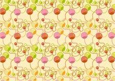 Kleurrijk parelspatroon Stock Fotografie