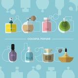 Kleurrijk Parfum Vector Illustratie