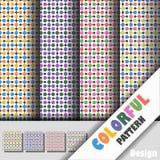 Kleurrijk patroon Royalty-vrije Stock Fotografie