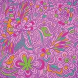 Kleurrijk patroon Royalty-vrije Stock Foto's