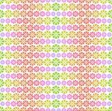 Kleurrijk patroon - abstracte bloemen Stock Fotografie