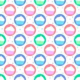 Kleurrijk patroon van cakes Stock Foto