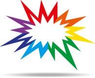 Kleurrijk pictogram Stock Afbeeldingen