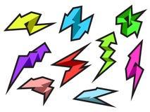 Kleurrijk Pijlenpak stock illustratie
