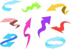 Kleurrijk Pijlenpak vector illustratie
