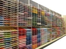 Kleurrijk plakboekdocument - Geïsoleerdet weg w/clipping Royalty-vrije Stock Afbeelding