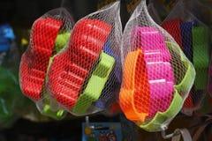 Kleurrijk plastic speelgoed Royalty-vrije Stock Fotografie