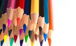 kleurrijk potlood royalty-vrije stock afbeelding