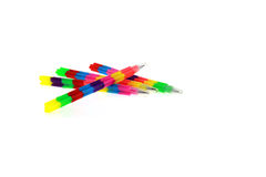 Kleurrijk potlood Stock Foto