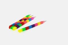 Kleurrijk potlood Royalty-vrije Stock Afbeeldingen