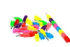 Kleurrijk potlood Stock Fotografie
