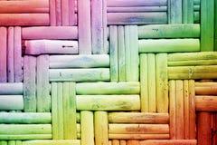 Kleurrijk Reed Background Royalty-vrije Stock Fotografie