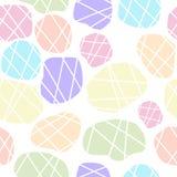 Kleurrijk rotsen naadloos patroon vector illustratie