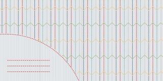 Kleurrijk sashikomotief met exemplaarruimte voor tekst Royalty-vrije Stock Foto