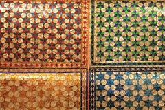 Kleurrijk schitter Thais patroon Stock Afbeeldingen