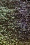 Kleurrijk schitter verf op een Zwarte achtergrond Stock Afbeelding