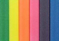 Kleurrijk schuimrubber Royalty-vrije Stock Fotografie