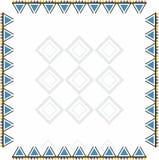 Kleurrijk sier met de hand gemaakt oostelijk ontwerp voor kleren Royalty-vrije Stock Afbeelding