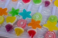 Kleurrijk snoepje in verschillende vorm Royalty-vrije Stock Afbeelding