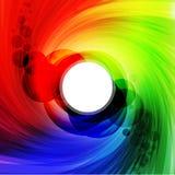 Kleurrijk spectrum stock illustratie