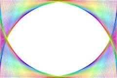 Kleurrijk spectrumframe Stock Afbeeldingen