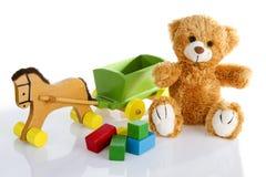 kleurrijk Speelgoed Royalty-vrije Stock Foto's