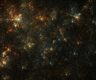Kleurrijk stergebied Royalty-vrije Stock Afbeeldingen