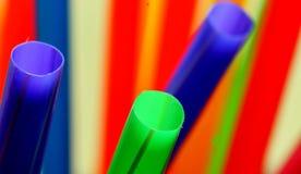 Kleurrijk Stro Royalty-vrije Stock Afbeelding