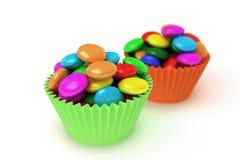 Kleurrijk suikergoed Stock Illustratie