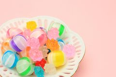 Kleurrijk suikergoed royalty-vrije stock afbeeldingen