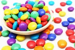 Kleurrijk Suikergoed Stock Foto
