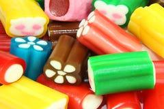 Kleurrijk suikergoed Stock Fotografie