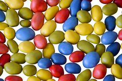 Kleurrijk suikergoed royalty-vrije stock foto