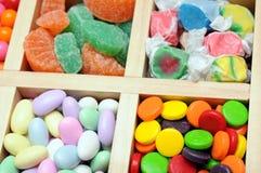Kleurrijk suikergoed i royalty-vrije stock afbeeldingen