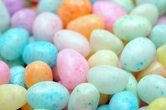 Kleurrijk suikergoed voor de dag van Pasen Stock Foto's
